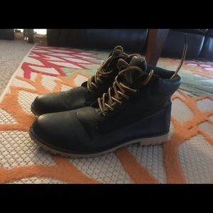 Wet Seal Timberland/Combat Boots